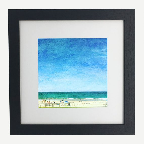 Mollymook-Sunshine-framed-wall-art-photography-art-black-frame