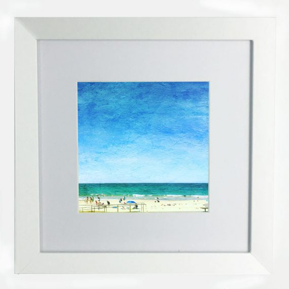Mollymook-Sunshine-framed-wall-art-photography-art-white-frame
