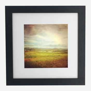 WideBrownLand-framed-wall-art-photography-art-black-frame