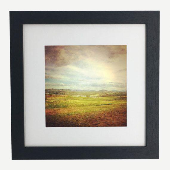 WideBrownLand-framed-wall-art-photography-art-black-frame