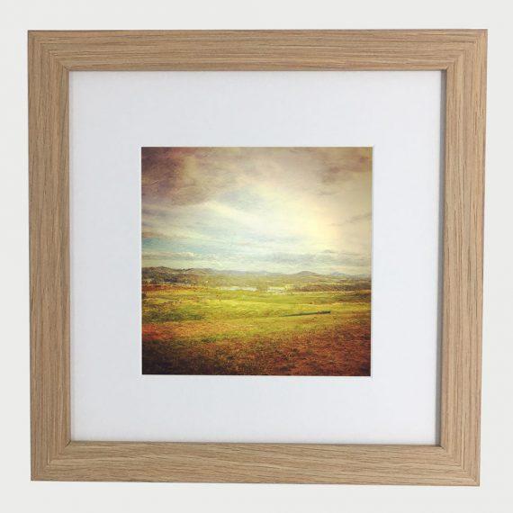 WideBrownLand-framed-wall-art-photography-art-brown-frame