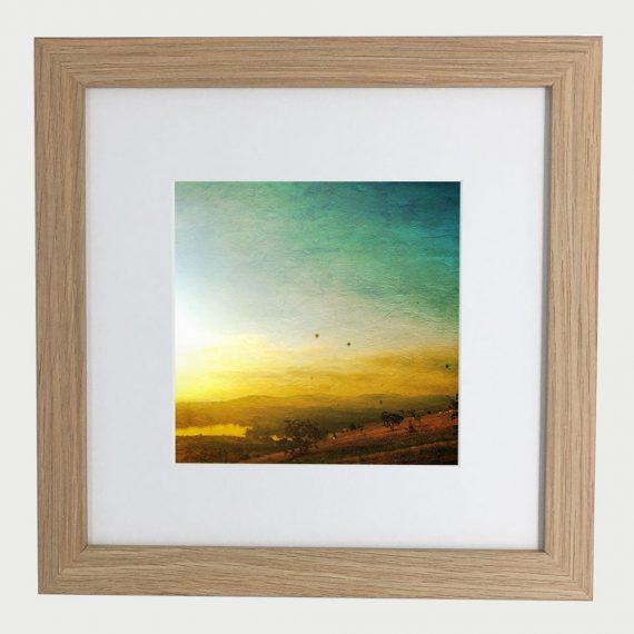 BalloonFestival-framed-wall-art-photography-art-brown-frame