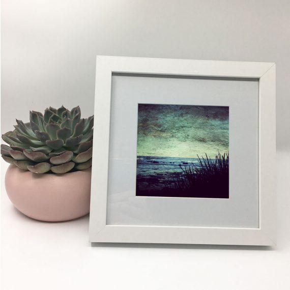 CoastalGoodness-framed-wall-art-photography-art-white-frame-situ