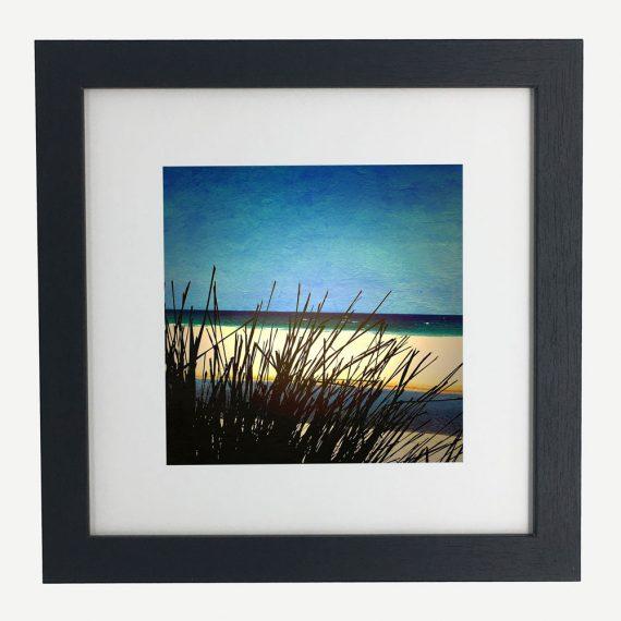 MollymookBeach-framed-wall-art-photography-art-black-frame