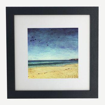 SunSeaSurf-framed-wall-art-photography-art-black-frame