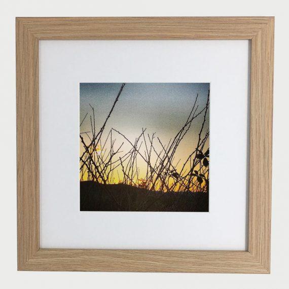 SunsetLyons-framed-wall-art-photography-art-brown-frame