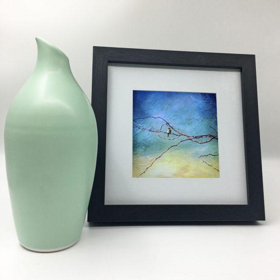 littleredbirdy-Artist-framed-wall-art-photography-art-black-frame-situ