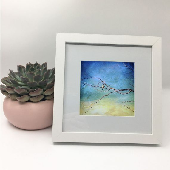 littleredbirdy-Artist-framed-wall-art-photography-art-white-frame-situ